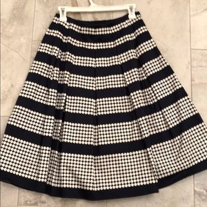 Talbots flair skirt